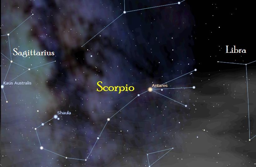 Scorpio Star Constellation The